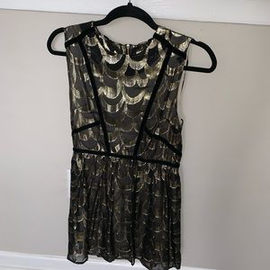 Black and Gold party dress